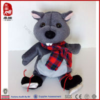 new soft baby toy squirrel factory