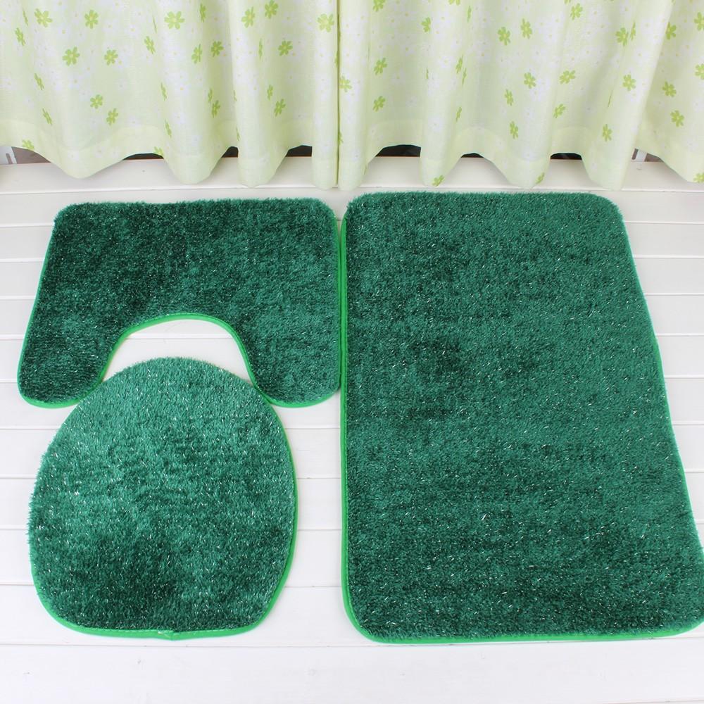 New design china hot sale anti slip bathroom 3 piece set for Bathroom sets on sale