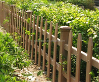 Marble Design plastic coated wood fencing