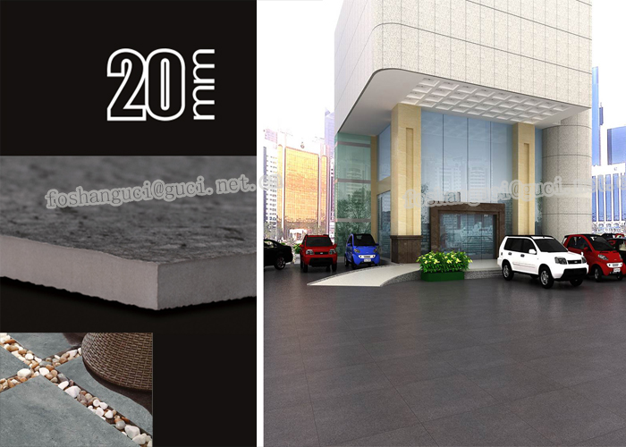 hot sales product outdoor and indoor Thick brick glazed porcelain floor tiles