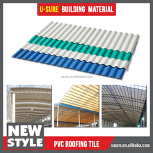 asian style roof pvc plastic roof tile