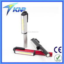 Aluminum LED COB SMD Pen Pocket Torch Light Magnetic Inspection Work Lamp