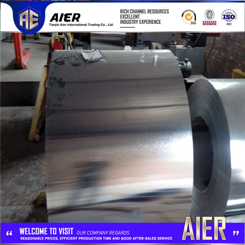 Brand new 0.57x1250mm iran galvanized steel coil with low price