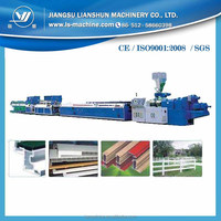 PVC electrical cable trunking making machine