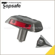 High Visible LED Solar Road Stud Plastic