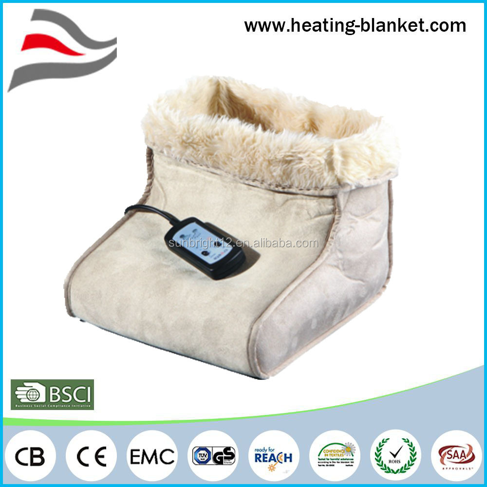 China Factory New Products Two Motors Vibration Personal Massager Electric Foot Warmer