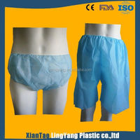 Disposable soft PP non-woven underwear for patient