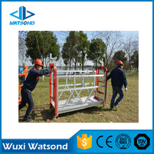 Factory Hot Sale Watsond ZLP630 Steel-color Galvanized mobile Construction Gondola
