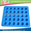 Factory Direct Custom Made Cake Decoration Silicone Form Fondant Tools Cake Fondant Molds