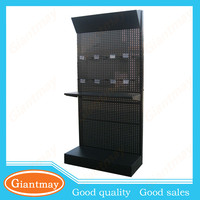 metal retail display rack unit merchandising stand