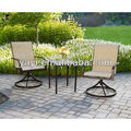 3-pcs outdoor metal set