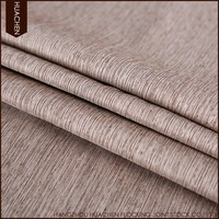 noise reduction flocked fr and blackout fabric for curtain