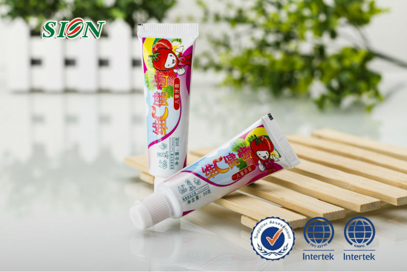 30g children toothpaste/OEM sensitive toothpaste/ cheap /Whitening and Refreshing /daily use aerosol aluminum toothpaste /hotel
