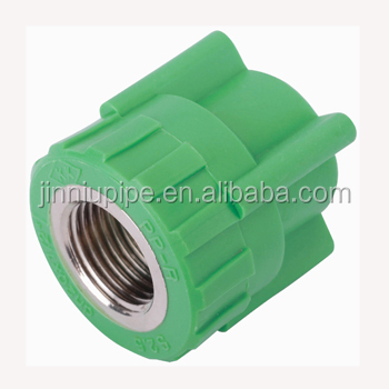 PPR FITTINGS FEMALE COUPLING (COPPER THREAD)