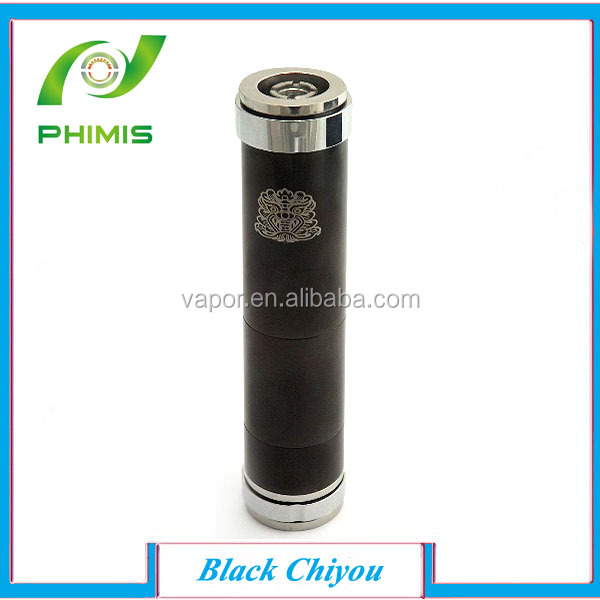 Alibaba,ali express 2014 best seller high quality ecig mechanical mod black ChiYou/chi-you mod,PAYPAL payment