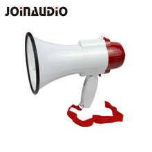 10W Portable siren recorder megaphone with 6V rechargeable battery