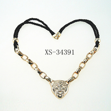 New design thick chain necklace wild animal pendant