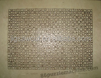 JIgsaw puzzle die cutter 600x850mm-2000pcs Standard provide custom design make