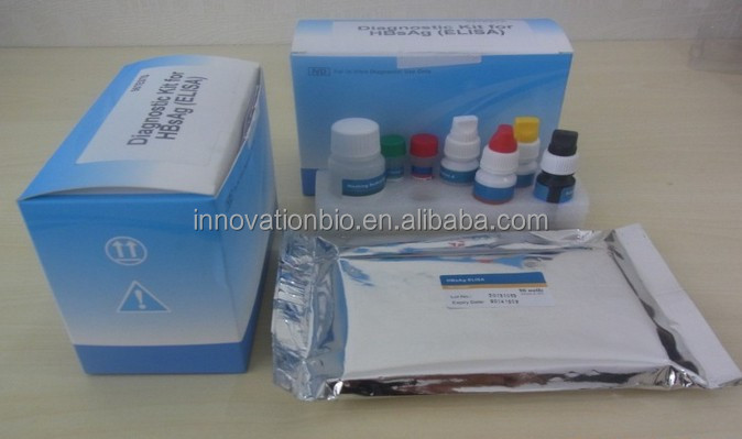 CE approved medical diagnostic rapid diagnostic tests Hepatities B HBsAg ELISA Test kit
