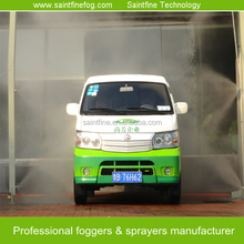 High Pressure Water Mist System Vehicles Disinfection Machine