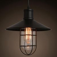 Loft Vintage Industrial Edison Chandelier Lighting Restaurant Hanging Lighting Fixtures Fancy Pendant Light CZ2626