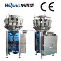 Multihead Potato Chips/Granule/Flower Cotton Candy Weighing Making Packing Machine