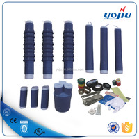 Silicone Rubber 35KV 3Core Outdoor cable accessory termination kits cold shrink tube type