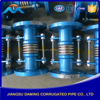 Hight quality products Stainless steel / Carbon steel galvanized rubber expansion joint