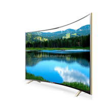 50 55 59 65 inch LED TV 4K curved with WIFI new model UHD smart tv