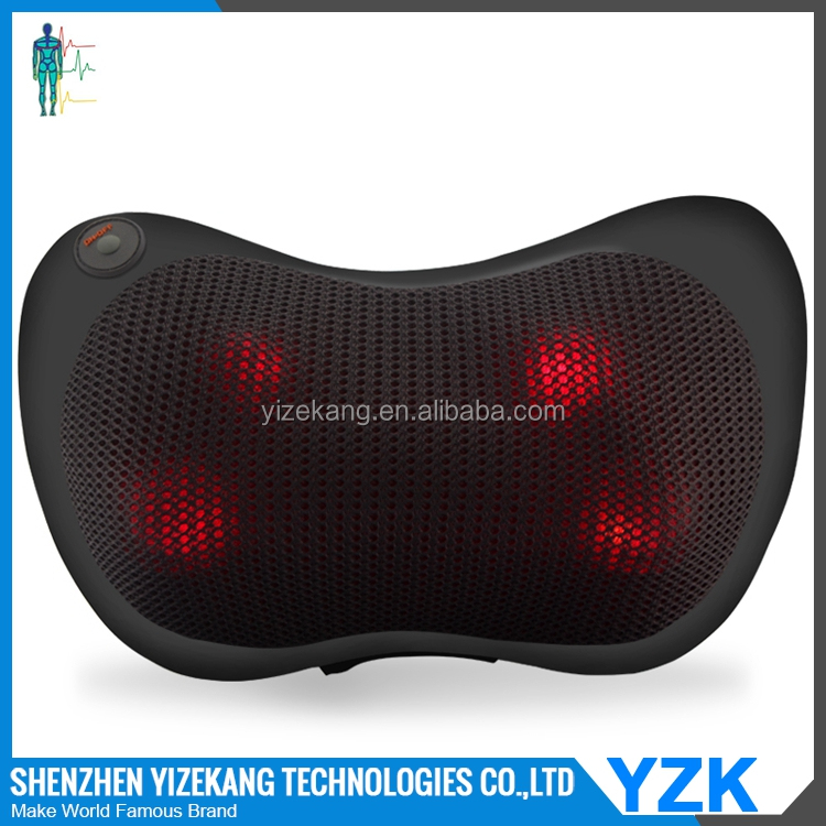 electronic shiatsu massage body pillow,electric neck shoulder massage pillow