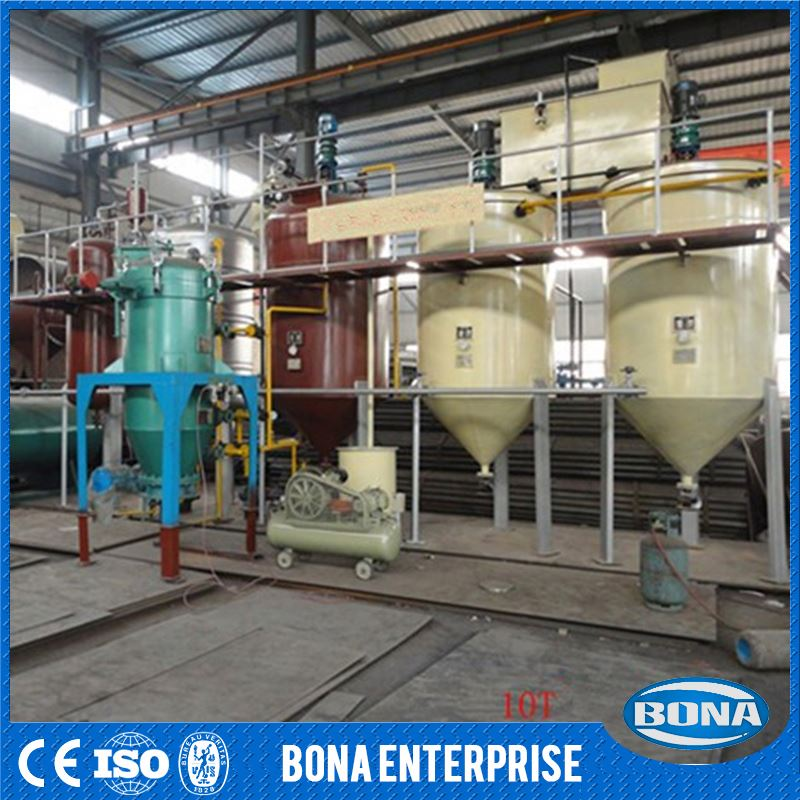 China Industrial Equipments Exporter Jatropha Oil Refining