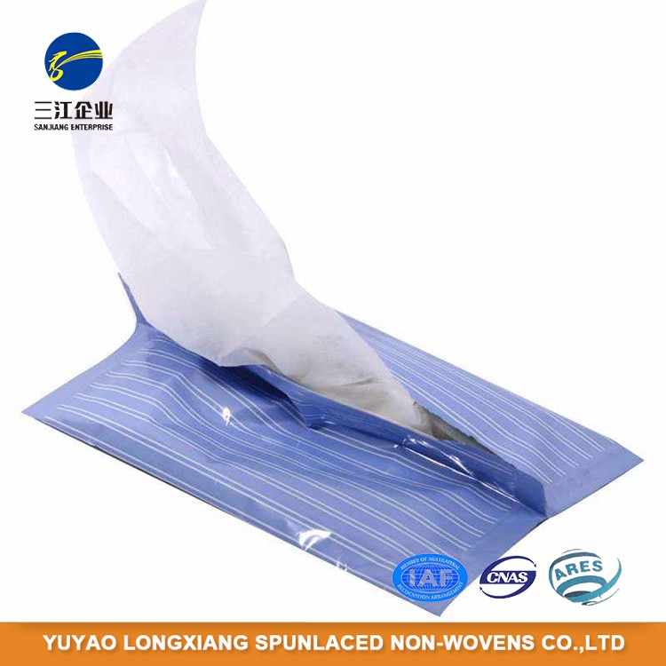 Durable Using Low Price Disposable Spunlace Nonwoven Push Clean Wipe