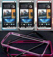 10 Colors Ultra-thin Aluminum Metal Bumper Frame Case Cover for HTC ONE M7