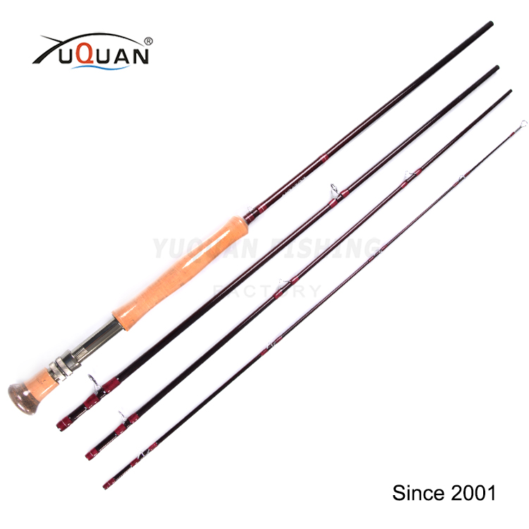 High Quality 9'0'' 12wt High Modulus Carbon Fly Fishing Rod