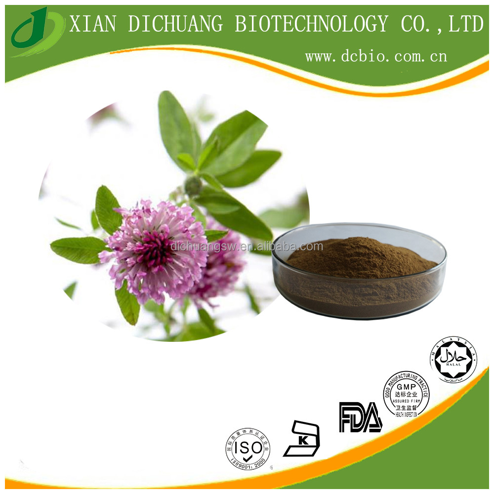 natural Red Clover extract powder 60% Isoflavones