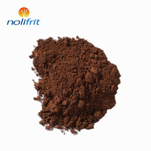 High temperature resistant brown inorganic pigment for enamel cookware