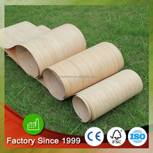 Engineered wood veneer artificial Bamboo veneer in 0.3-0.6mm for furniture for skateboard