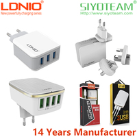 chargers for mobile phone LDNIO 2 3 4 6 USB 1A-7A Current Quick and Stable travel adapter with usb charger
