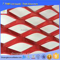 Reinforcement anti climb expanded metal mesh with frame