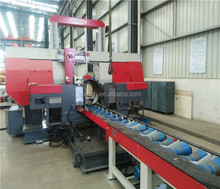 High Speed Band Saw Cutting Machine for Pipe Fabrication
