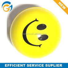 Give Away Custom Logo Printed Smiley Face Stress Ball Soft Toys