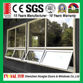 Energy efficient latest aluminum frame awning window designs with competitive price