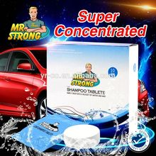 no harmful for hand 24g car shampoo tablets