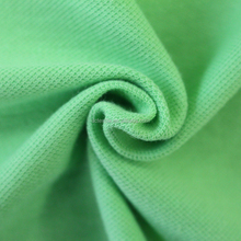 Polyester cotton CVC twill pique knitted fabric