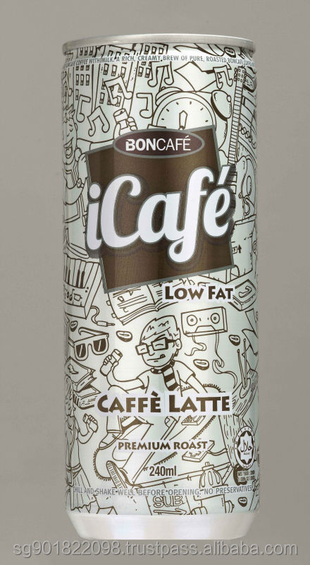 BONCAFE Icafe Ready to Drink Coffee