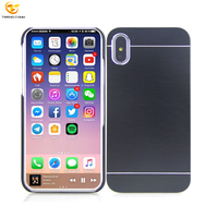 Alibaba Express China Custom Metal Aluminum PC Hard Phone Cover Case For Apple iPhone X