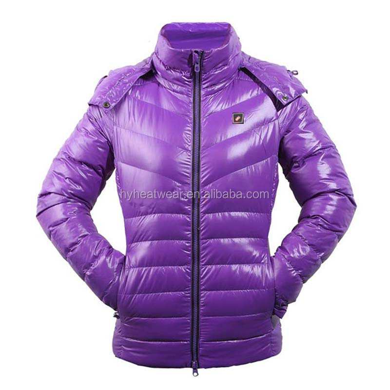woman clothing thermal battery operated heated women winter coats