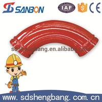 Wholesale alibaba Seamless 45 degree pipe bend