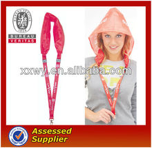 Best Selling Fashion Custom Fan Plastic Waterproof rain hat/Folding rain hat