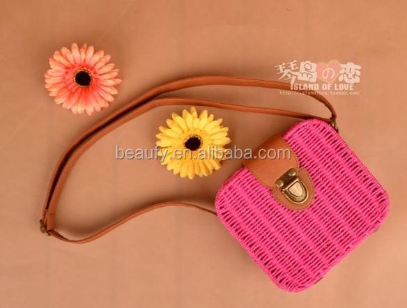 Borse Di Moda Per Ragazze : I bambini ingrosso moda borse di paglia da decorare per le